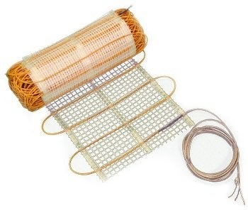 Thermosoft Thermo Tile 120 V Mats Radiant Floor Heating Bob Vila
