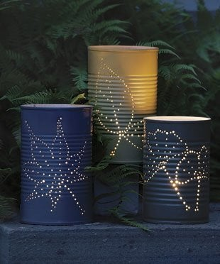 How to Make Garden Luminaries - Complete
