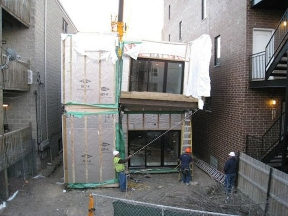 C3 Prefab Containers