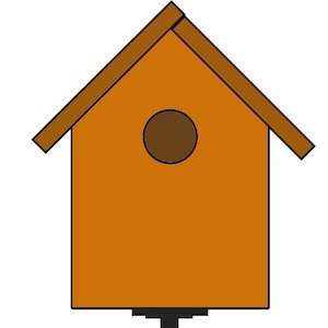 How to Make a Birdhouse - DIY Birdhouse Diagram