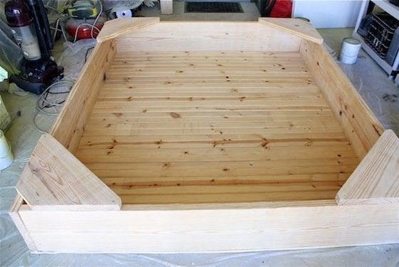 How to Make a Sandbox - Frame