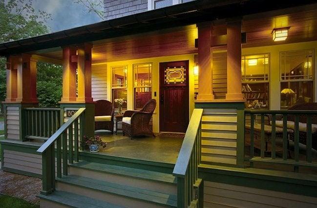 Front Porch Designs - Bungalow