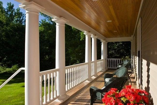 Front Porch Designs - Colonial