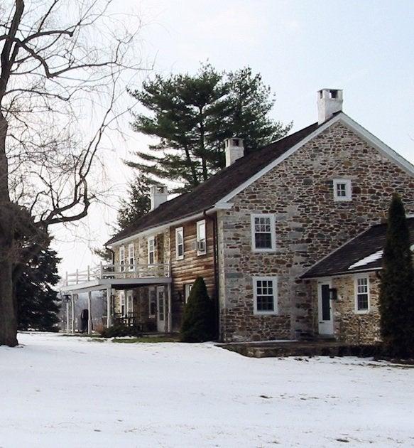 Wyant Architecture Pa Farmhouse Addition Original House