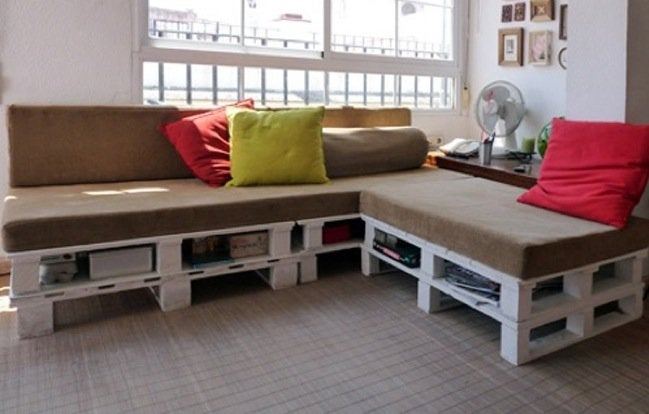 Woodworking Projects - Pallet Sofa