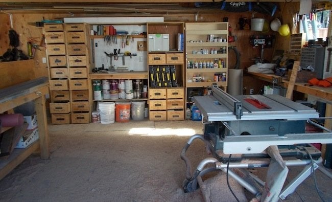 Meryl Chris Picardy Project Blog Stars Wine Crate Storage Garage Workshp 3