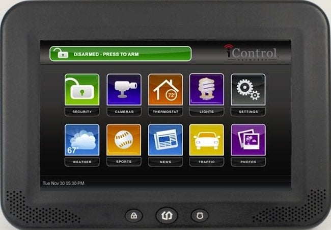 I Control Open Home Software Control Panel