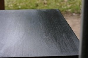 How to Paint Wood Furniture - After