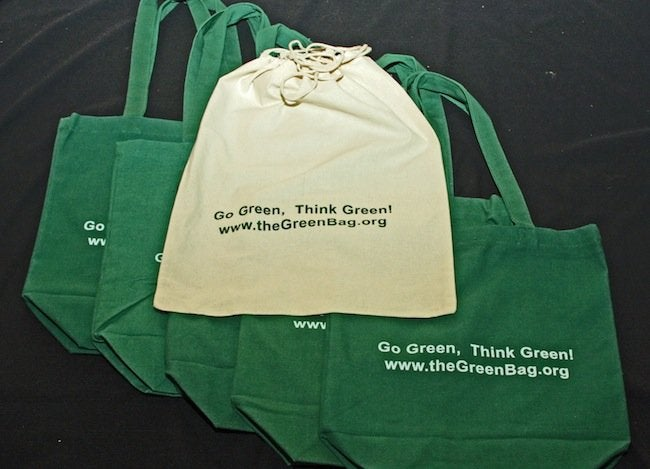Green Tips for the Home - Reusable Shopping Bags