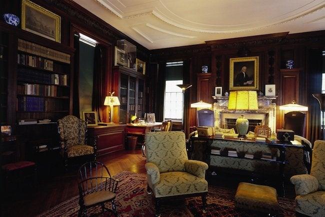 Roosevelt Springwood Office Roger Straus Iii Housesofthe Presidents