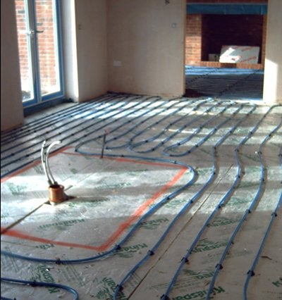 Heating Systems - Radiant Floor