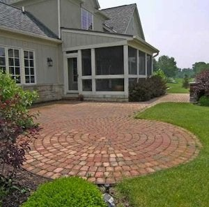 Patio Materials - Brick