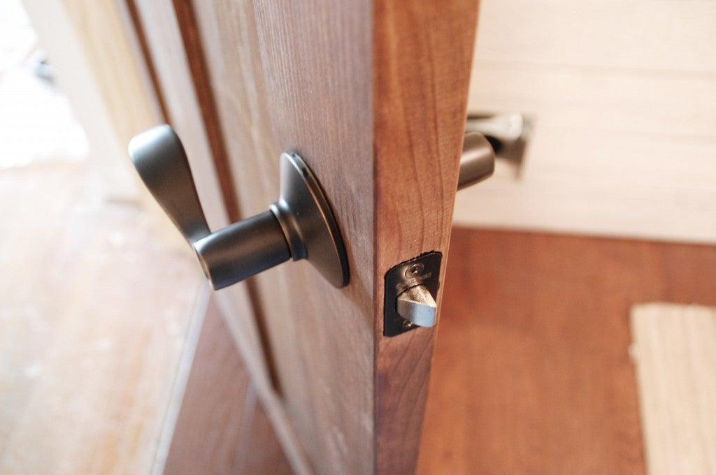 How to Install Door Hardware - Face Plate