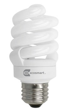 EcoSmart CFL 14-Watt Light Bulb Home Depot