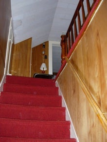 stairs, carpeting,