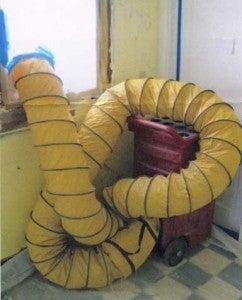 negative air pressure machine