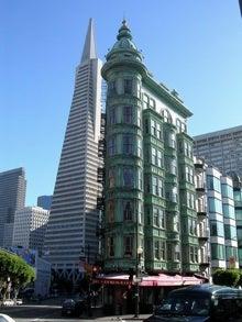 digital_freak Flickr San Francisco TransAmerica Pyramid Green city