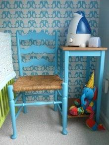 JProvenz Table & Chair After Bob Vila Green Nursery