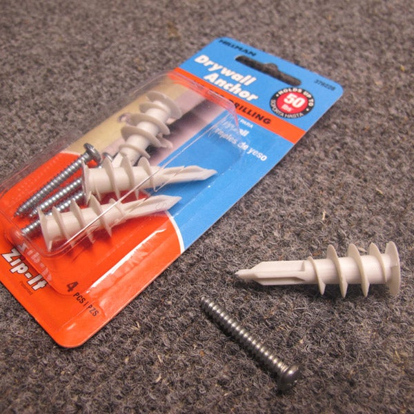 How to Install a Drywall Anchor