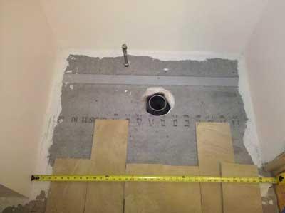 Kitchen Layout - Powder Room