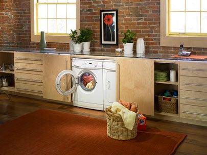 Laundry Room Ideas - Brick