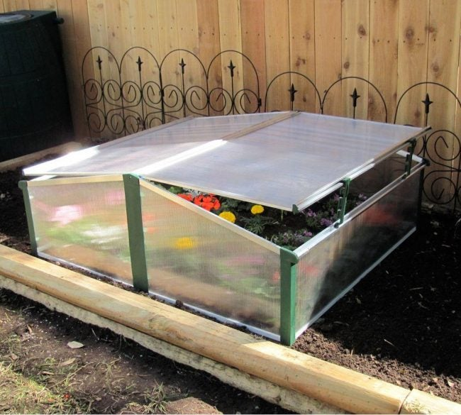 DIY a Cold Frame with a Ready-to-Assemble Kit