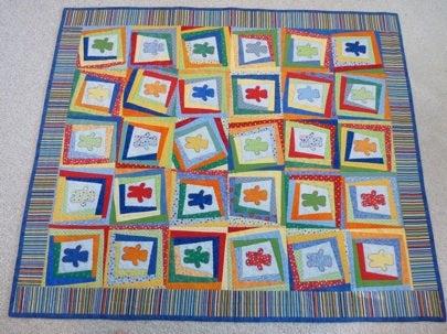 JProvenz Handmade Baby Quilt Bob Vila My Green Nursery