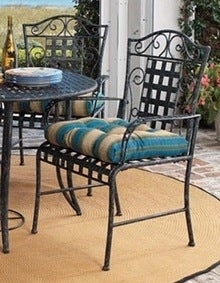 O.com Five-piece Wrought Iron Patio Set Bob Vila Fall Maintenance