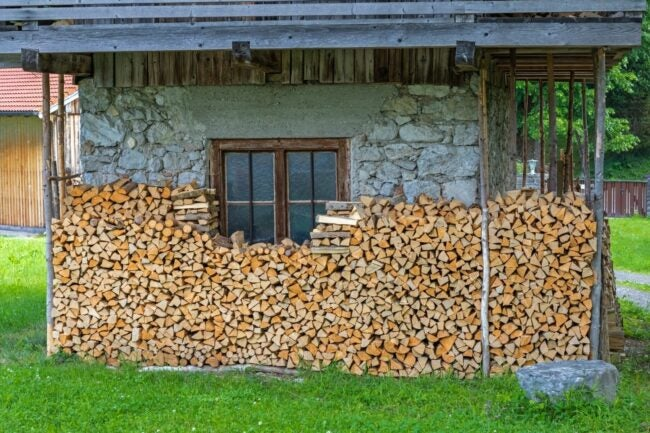How to Stack Firewood