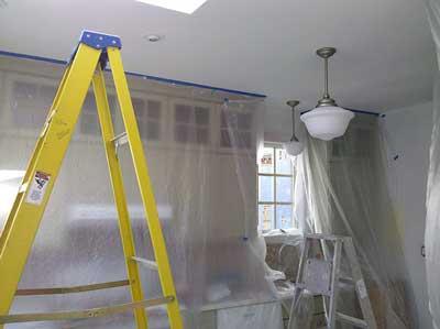 shrouded kitchen