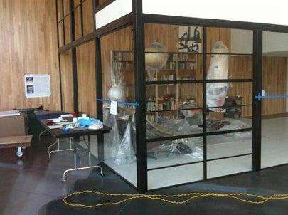 Eames Living Room Installation LAMCA Exhibit