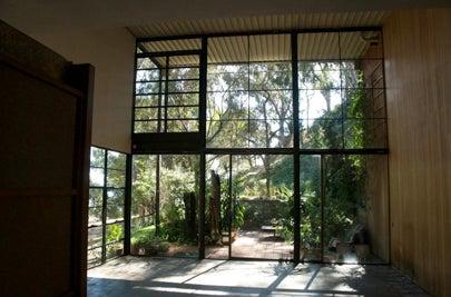 Eames Living Room LACMA Exhibit