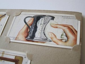Household Hints Cigarette Trading Cards - Collection 2