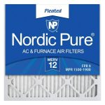 The Best Furnace Filter Option: Nordic Pure MERV 12 Pleated AC Furnace Air Filters