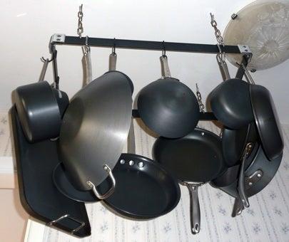 Install a Pot Rack - DBSchwartz