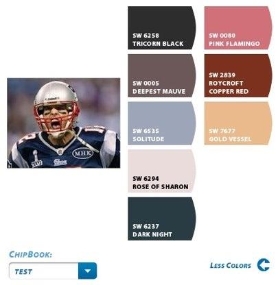 Sherwin-Williams Chip it! Tom Brady
