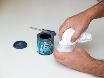 How to Resurface Laminate Countertops - Sealer Detail