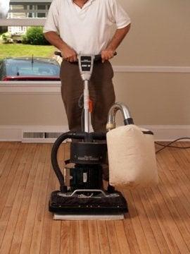 How to Refinish Hardwood Floors - Sander