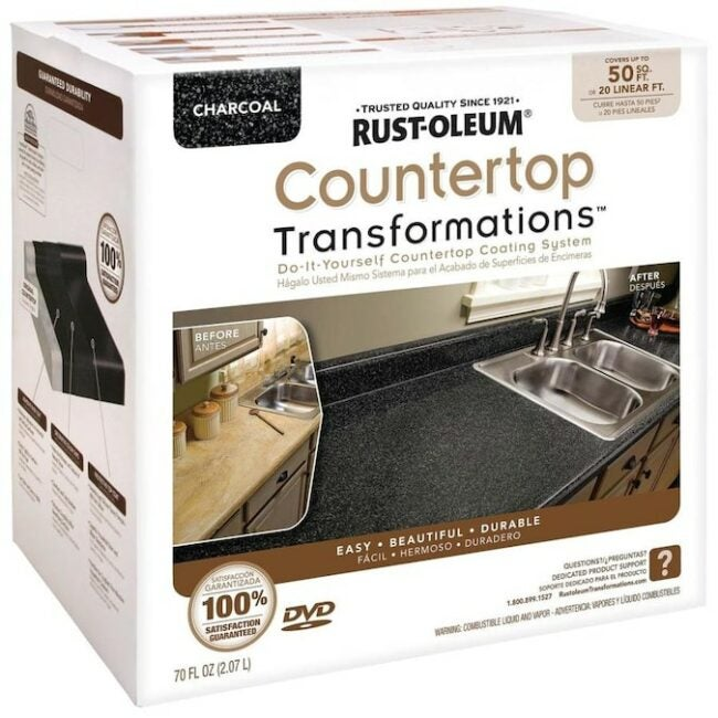 DIY Kitchen Counter Makeover with Rustoleum Transformations - Product