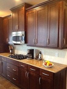 اختيار خزائن المطبخ - أبواب لوحة واحدة