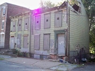 Habitat Builder Blitz, Newburgh, NY houses slated for rebuilding