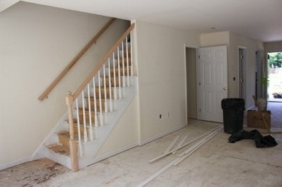 Habitat Builder Blitz, Newburgh, NY finished interior Day 4