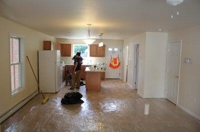 Habitat Builder Blitz, Newburgh, NY interior