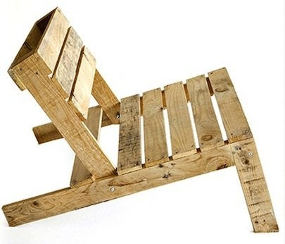Shipping Pallet DIY Projects - Chair