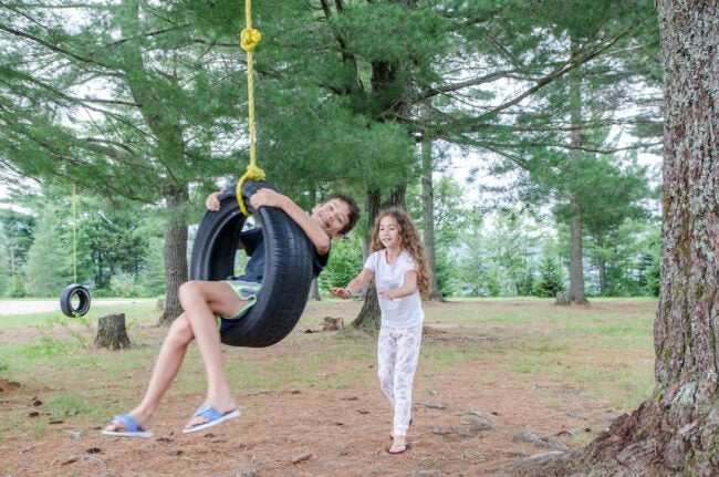 diy tire swing how to