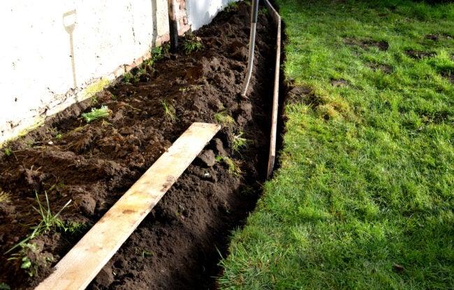how to install landscape edging -- installing landscape edging