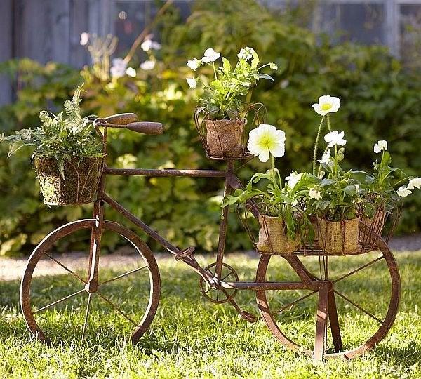 DIY Old Bicycles - Planter