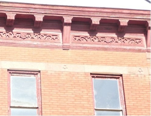 Architectural Cornices - Brick House Deli