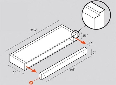 How to Install Floating Shelves