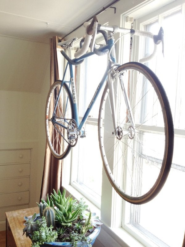 DIY Old Bicycles - Mounting Rack